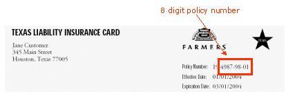 printfaxtexas liability insurance cardpolicy number 44054747rocio